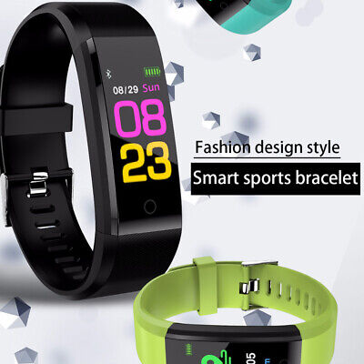 Smart Bracelet Sedentary Reminder Fitness Sleeping Monitoring Bluetooth Watch