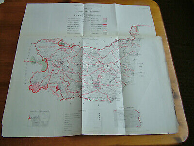 Rare - SUFFOLK Antique Ordnance Survey Map 1888. Robert Owen Jones