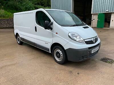 62reg Vauxhall Vivaro 2.0CDTi ( 115ps ) LOW MILES  2900 LWB Tel Lee 07780 161585