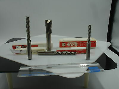 Y.G - 3/4 X 1/2  OAL 3-1/2 SE 2 Flt M42 Endmill(1pc)New 1356