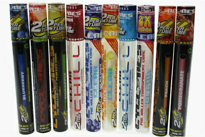 Cyclones Flavored Clear Pre Rolled Cone Smoking Papers Flavor Choice FREE POST