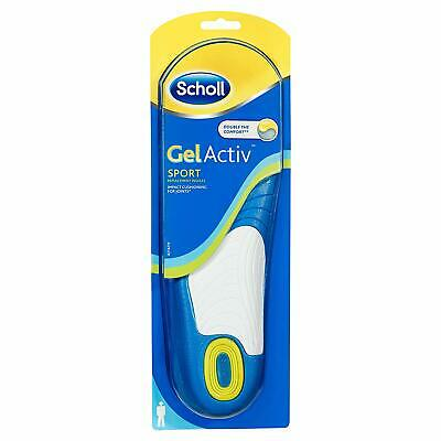 Scholl Men's Gel Activ Sport Insoles Men or Women - NEW