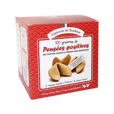 Boîte de 15 FORTUNE COOKIES Made in France