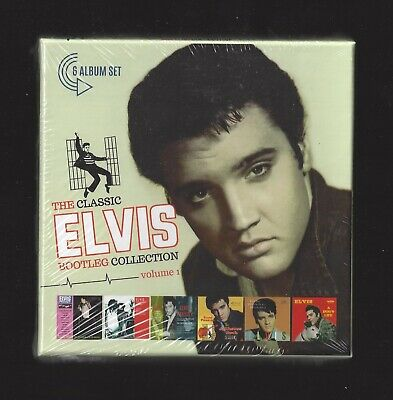 Elvis The Classic Elvis Presley Bootleg Collection Vol 1 Box 6 Cd Booklet Sealed