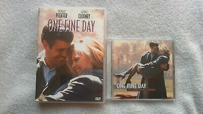 One Fine Day DVD + MOTION PICTURE CD SOUNDTRACK Michelle Pfeiffer George Clooney