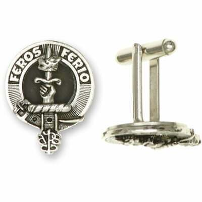 Art Pewter Young Clan Crest Cufflinks CCL-C106