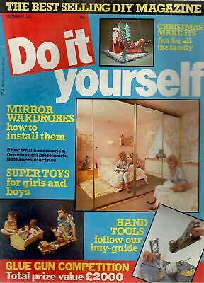 1984 DECEMBER 24512  Do It Yourself Magazine   SUPER TOYS FOR BOYS AND GIRLS