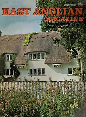 1979 JUL 52895 East Anglian Magazine Cover Picture THATCHED COTTAGE FINCHINFIELD