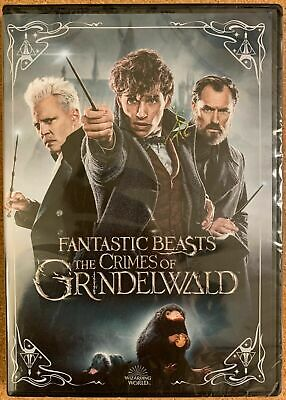 NEW!!! Fantastic Beasts The Crimes of Grindelwald (2019 DVD)