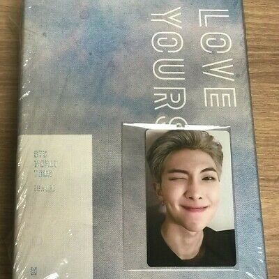 BTS Love Yourself In Europe DVD RM Nam Joon  Photocard Limited Rare