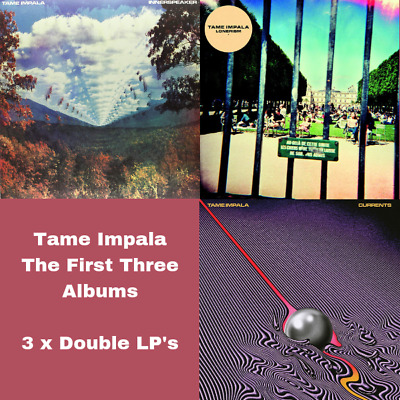 Tame Impala - First Three Albums Bundle - 3 x 180Gram Double Vinyl LP's *New*