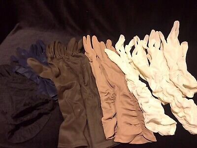 Vintage Gloves- 6 Pairs size 7.5