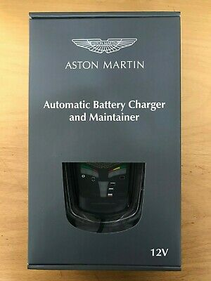***New***Aston Martin Automatic Battery Charger & Maintainer - U.S & Canada Spec