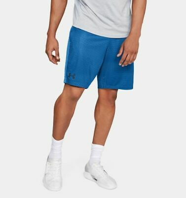 """UNDER ARMOUR Men/'s  MK-1 Printed Shorts Black//Grey 9/"""" Inseam Size Large $35NWT"""