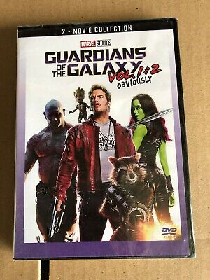 Guardians of the Galaxy Vol 1 & 2 Two Film Marvel Collection Box Set Brand New