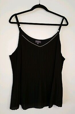 NWOT The Limited Womens Plus Size Sleeveless Top/Shell Size 2X (20/22) Black