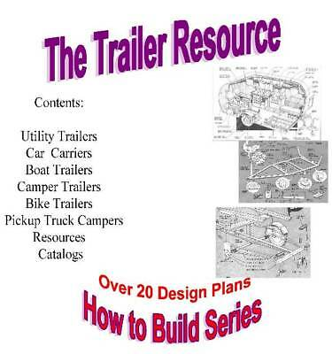 Ubuildit Trailer Plans
