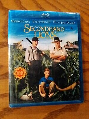 Secondhand Lions (Blu-ray Disc, 2009) NEW! Haley Joel Osment, Robert Duvall