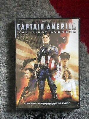 Captain America: The First Avenger(DVD,2011) Brand NEW. Free Shipping