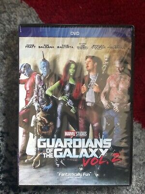 Guardians of the Galaxy Vol. 2 (DVD, 2017) Marvel Avengers Brand New