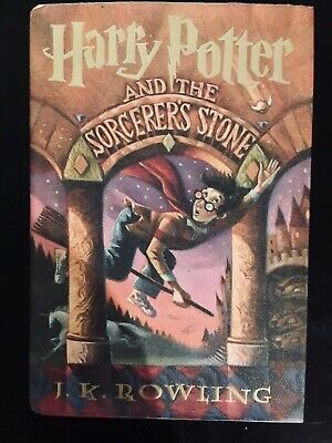 HARRY POTTER AND THE SORCERER'S STONE Hardcover 1st American Edition 1998