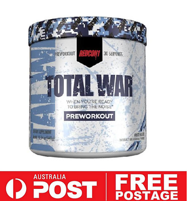 REDCON1 TOTAL WAR White Walker Edition | Pre Workout Energy Focus Intensity