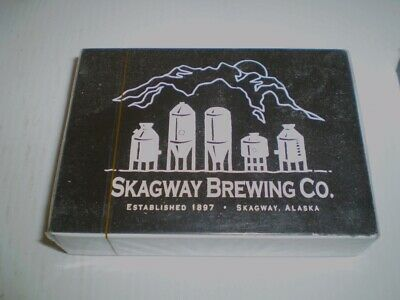 Pack of older beer playing cards  - Scagway Brewery