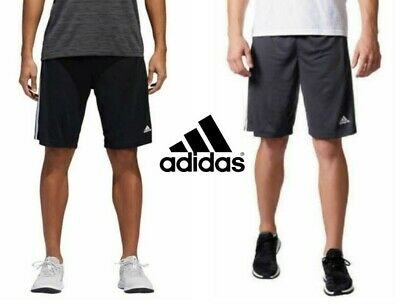 NEW Adidas Men's 3-Stripe Climalite Training Athletic Shorts VARIETY