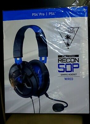 88fbce6ff00 NEW Turtle Beach Ear Force Recon 50P Stereo Gaming Headset Playstation 4 PS4