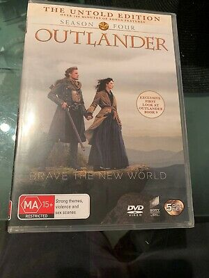 Outlander Season 4 BRAND NEW Region 4 DVD GENUINE IN STOCK