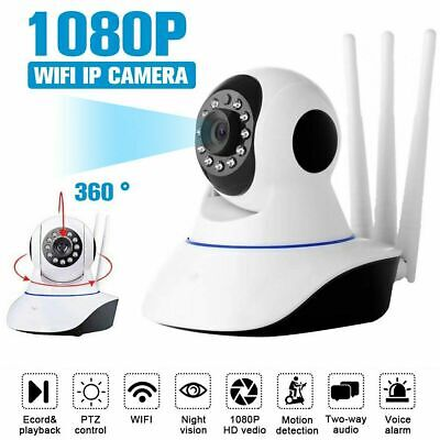 WiFi 1080P IP Camera Home Security Baby Monitor Clever Dog CCTV CAM Night Vision