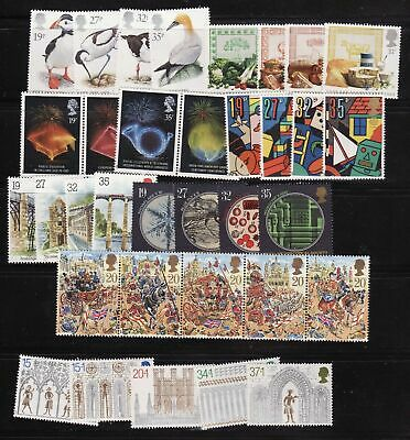 1980-1989 Nhm Commemorative Stamps In Year Sets