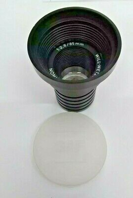 Will Wetzlar Maginon 1:2.8/85mm Projector Lens Vintage Made in Germany BNIP