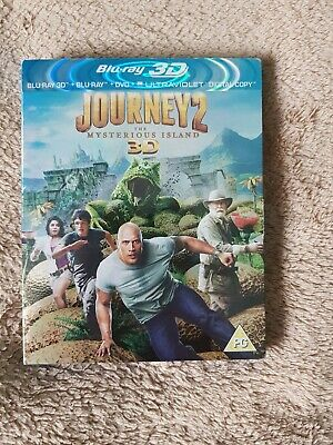 Journey 2 - The Mysterious Island (3D Blu-ray, 2012)