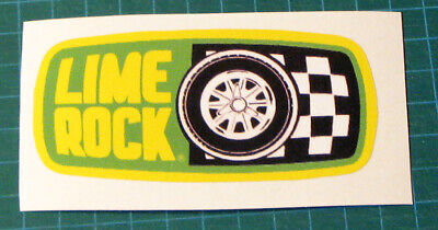 1970'S Vintage Style Lime Rock Circuit - Vinyl Sticker Decal-Scca Racing