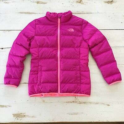 b6800819a NEW THE NORTH Face Andes Jacket Girls Small (7/8) Starry Purple Down ...