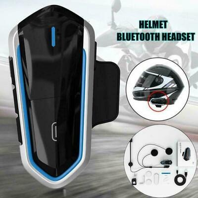 2019 BT-S2 Bluetooth Motorcycle Helmet Headset MP3 Microphone New 2 Colors