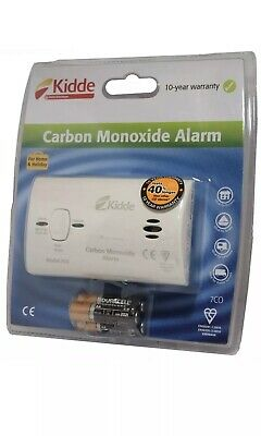 Kidde Carbon Monoxide Gas DetectorAlarm10 Year Sensor and Replaceable Batteries