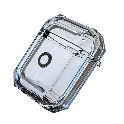 For Apple Airpods 2nd Gen Clear Candy Bumper Shock Proof Protective Case Cover