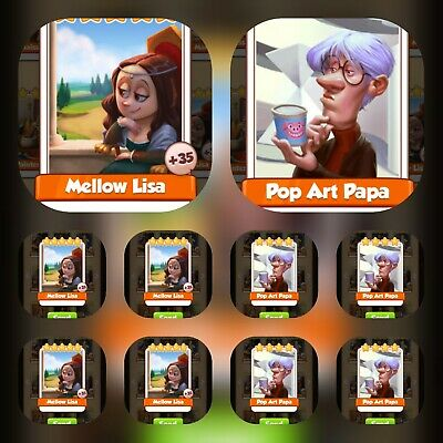 2x Martian Lettuce Coin Master cards( Fastest Delivery)
