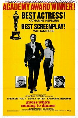 RARE 16mm Feature: GUESS WHO'S COMING TO DINNER (TRACY / HEPBURN / POITIER)