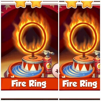 Coin Master Cards Pack☆☆☆ 2x Fire Ring ☆☆☆ Fastest Delivery