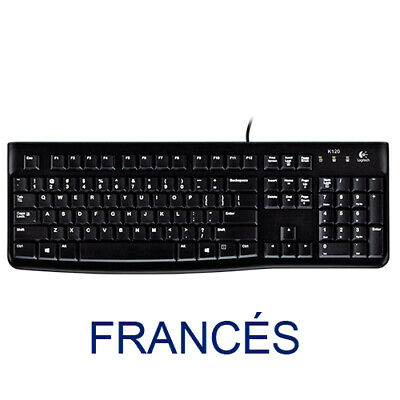 Teclado Logitech Oem K120 Frances For Bussines (oem) Usb  P/n:920-002515