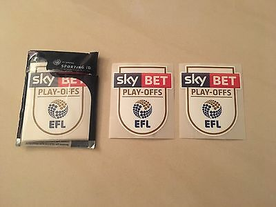 EFL | Sky Bet Championship Play-Off Final 2017 Sleeve Patches