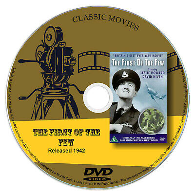 The First of the Few - David Niven, Leslie Howard DVD War Film 1942