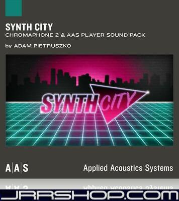 AAS Applied Acoustics Systems Synth City Sound Pack for Chromaphone 2 eDelivery