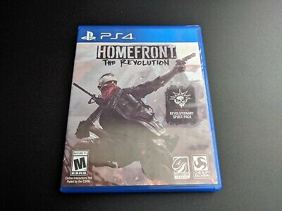 Homefront The Revolution Sony Playstation 4 PS4 LN PERFECT cond COMPLETE +DLC!