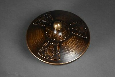 Roycroft / Stickley Design Luke Marshall Hammered Copper Bowl