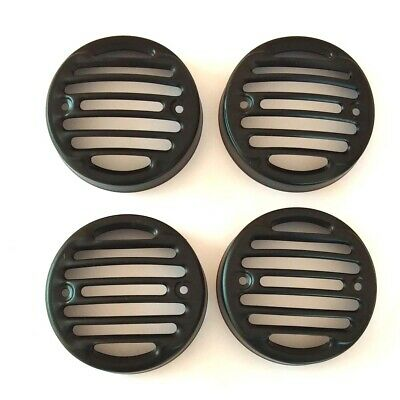 Royal Enfield Classic Front Rear Indicator Grill Black Set Fit RE MODEL