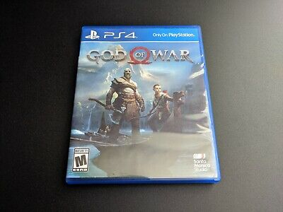 God of War Sony Playstation 4 PS4 2018 LN 100% PERFECT condition COMPLETE!